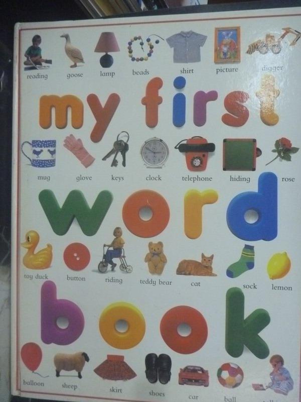 【書寶二手書T7/少年童書_ZEB】My First Word Book_Wilkes, Angela