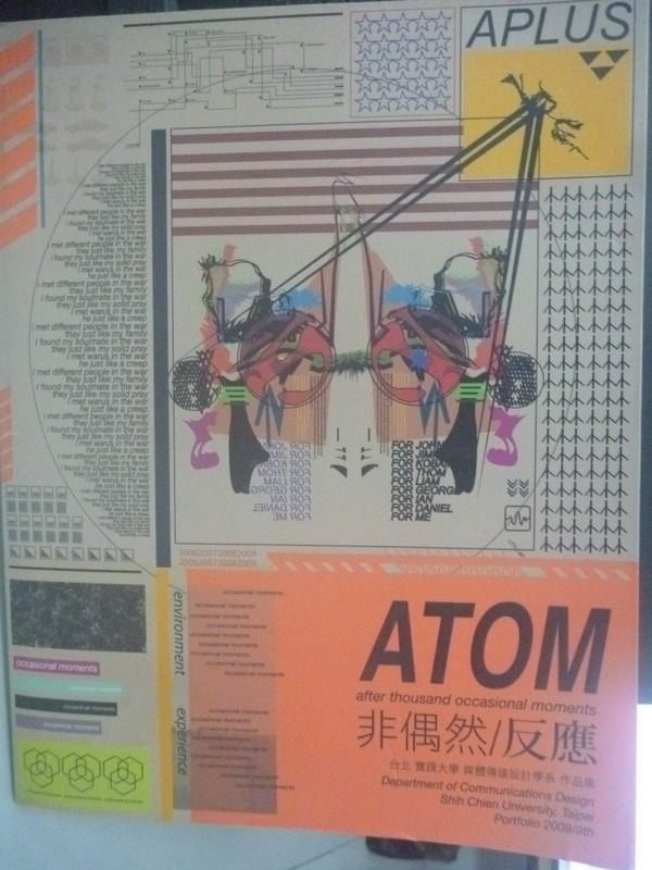 【書寶二手書T2/廣告_ZDU】ATOM after thousand occasional moments非偶然/反應