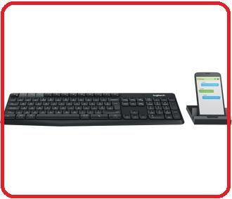 羅技 Logitech  K375s Multi-Device 無線鍵盤支架組合