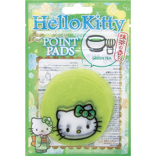 【真愛日本】15101300005 局部保濕面膜10入-抹茶香 三麗鷗 Hello Kitty 凱蒂貓 面膜 保濕面膜