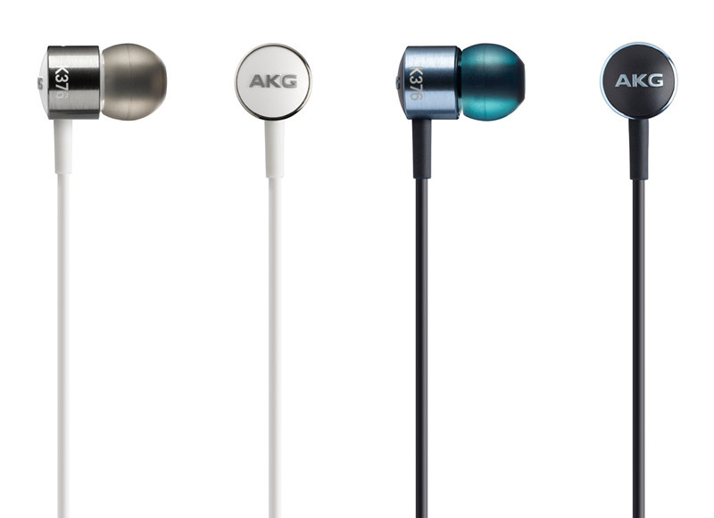 志達電子 K376 AKG 耳道式耳機(愛科公司貨) 藍/白 For Android/Apple 門市提供試聽!
