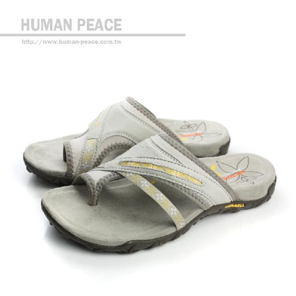 MERRELL TERRAN POST 拖鞋 白灰色 女鞋 no537