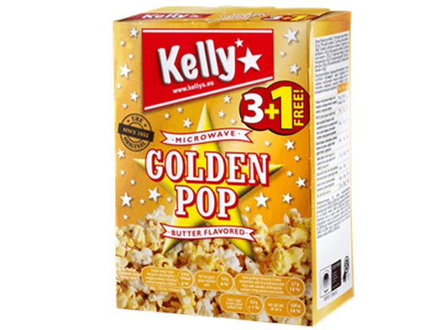 奧地利進口 Kelly's 奶油微波爆米花360g