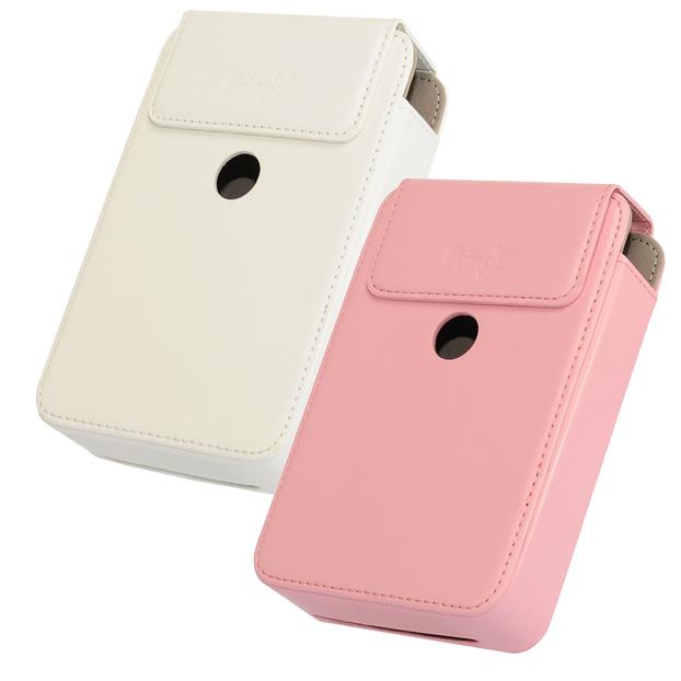 【相印機配件】Pringo P231 原廠相印機皮套(白/粉)  Kamera 相印機包 相機殼