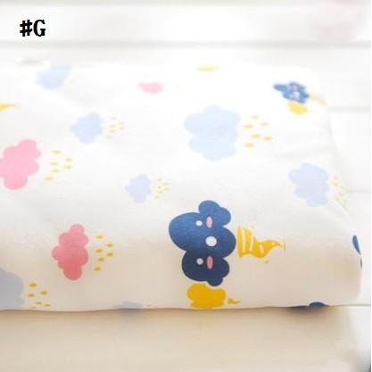 嬰兒【精梳棉】床包。嬰兒床單。嬰兒床罩-G火爆雲朵