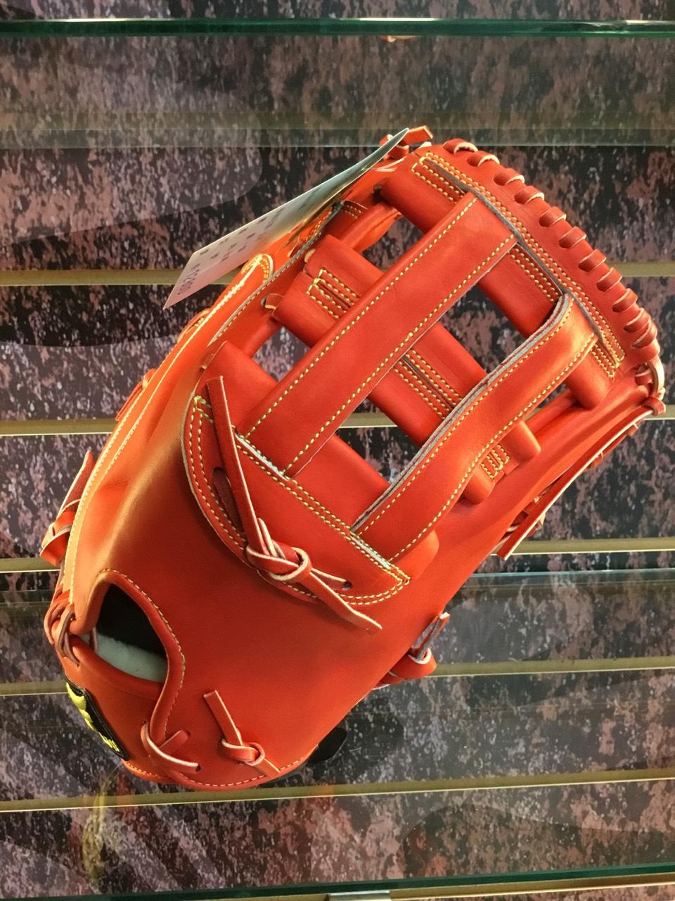 【硬式】JJS日本小牛加大型美式一壘手套