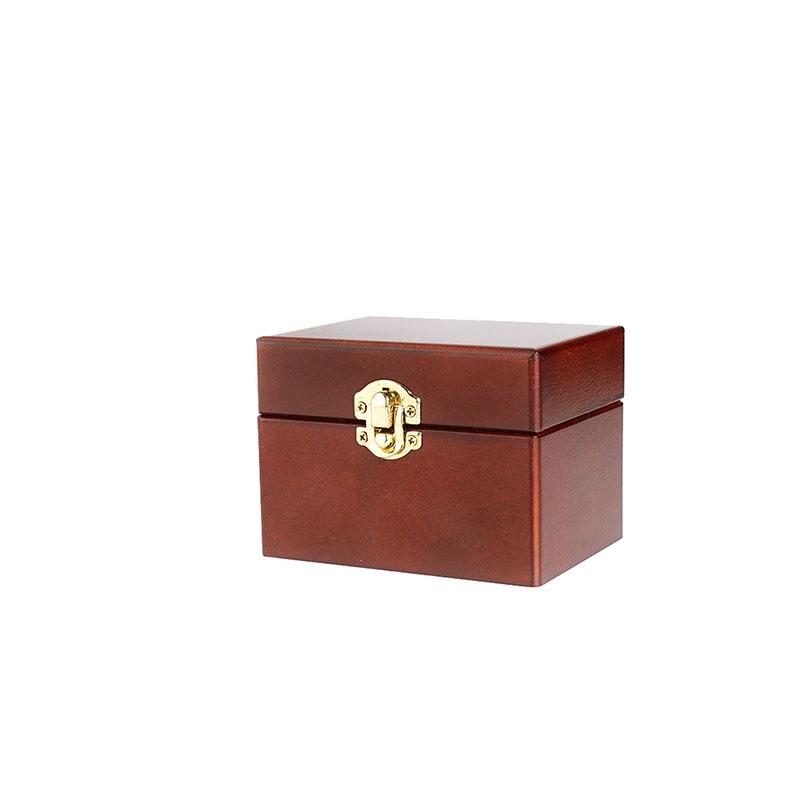 【Herbally草本真情】精緻十二格精油木盒-質感棕