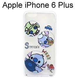 迪士尼透明軟殼 iPhone 6 Plus / 6S Plus (5.5吋) [圈圈] 史迪奇 小金【Disney正版授權】