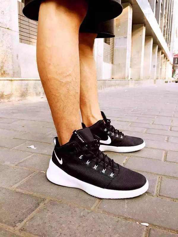Nike HYPERFR3SH 三國黑白小趙雲男女情侶鞋