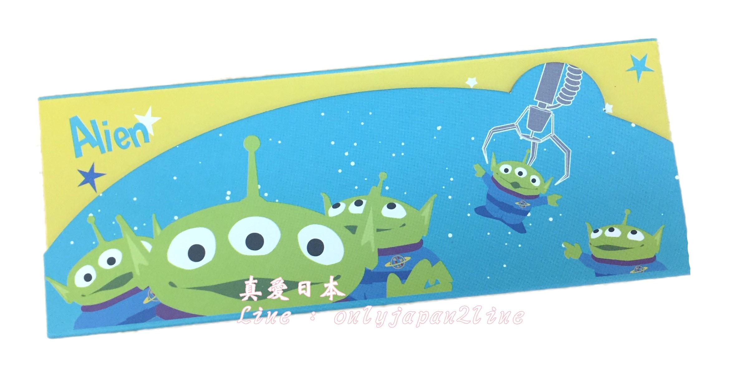 【真愛日本】16063000025TSUM萬用盒-三眼怪     迪士尼 玩具總動員 TOY  收納盒  筆盒