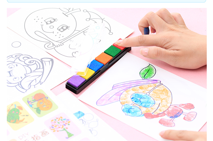 *GouQu*創意DIY兒童手指畫