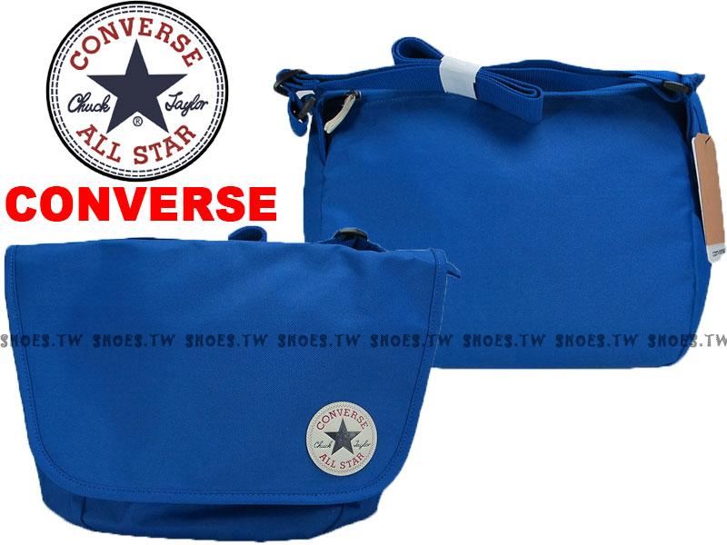 Shoestw【12039C441】CONVERSE ALLSTAR 郵差包 寶藍色 隨行包 側背包