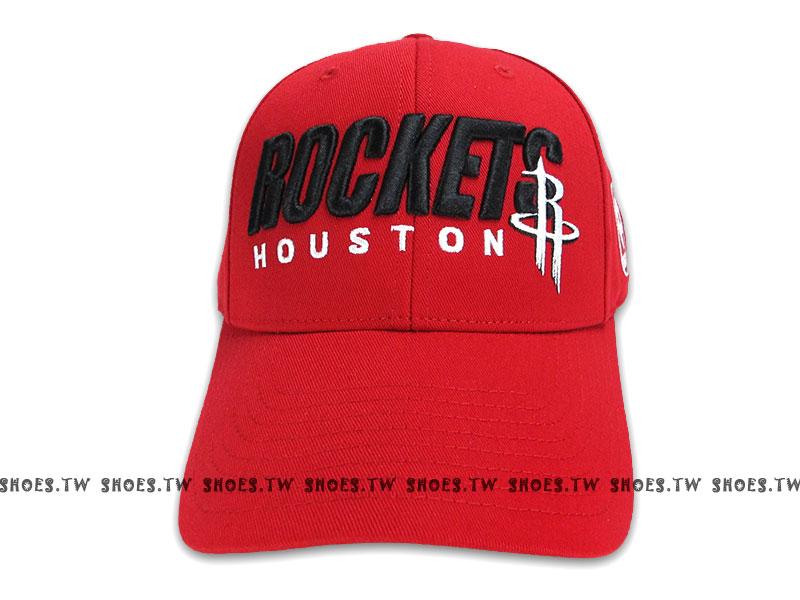 鞋殿【8361301018】NBA 運動帽 棒球帽 銅扣調整帽 休士頓 火箭隊