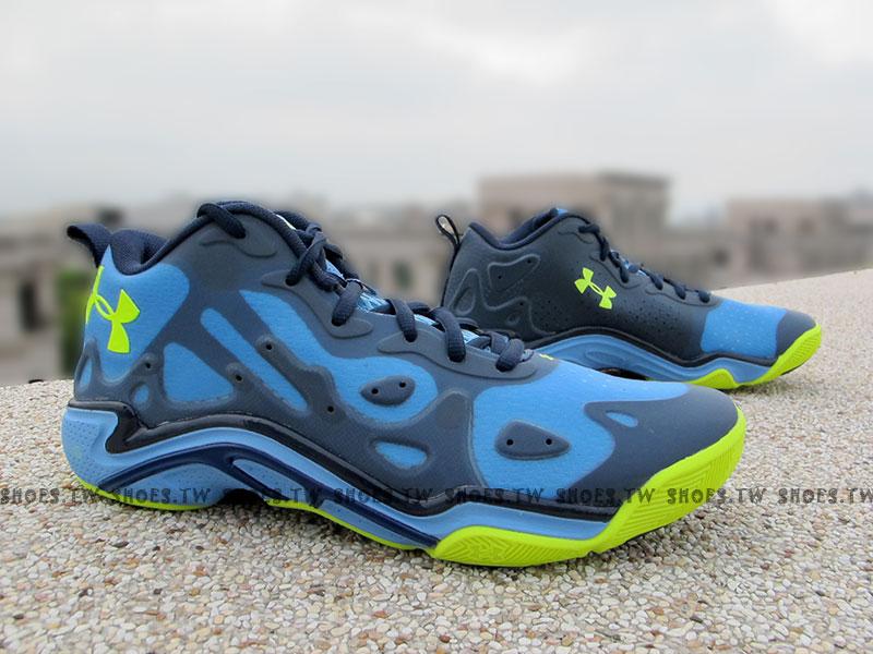 《出清6折》 Shoestw【1252477-475】UNDER ARMOUR UA 籃球鞋 Stephen Curry 低筒 水藍