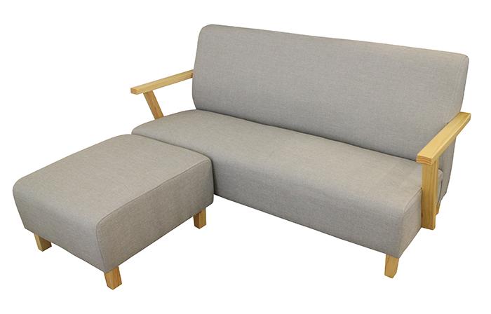 【尚品家具】797-07 簡約L型亞麻布沙發/客廳沙發/會客沙發/ L-Shaped Sofa