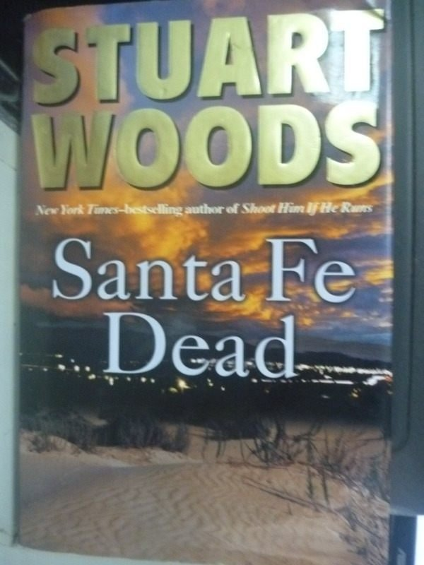 【書寶二手書T6/傳記_ZEE】Santa Fe Dead_Woods, Stuart