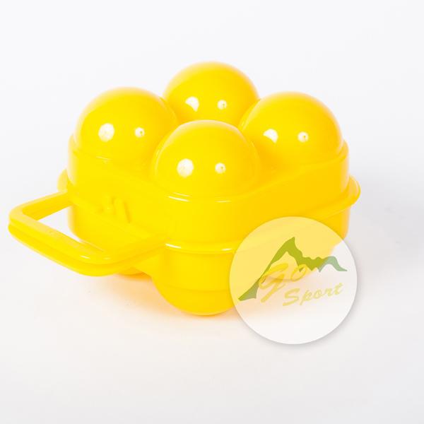 【露營趣】中和 GO SPORT 50302 4粒蛋盒 四粒蛋盒 攜蛋盒 登山 露營必備