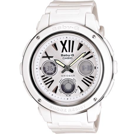 CASIO BABY-G BGA-152-7B1雙顯流行腕錶/白面42.8mm