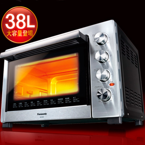Panasonic 國際 NB-H3800 38L  大容量 雙溫控烤箱 買就送食譜