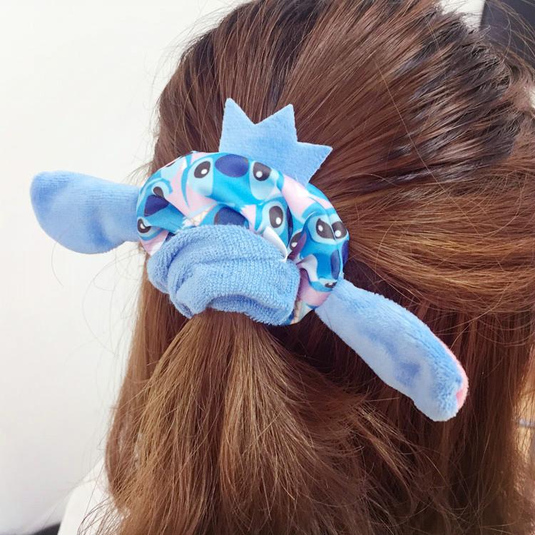 PGS7 (現貨+預購) 迪士尼系列商品 - 迪士尼 系列 造型 拼接 髮圏 髮飾 米老鼠 奇奇蒂蒂 小熊維尼 史迪奇