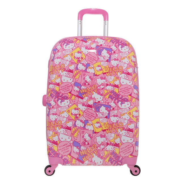 【真愛日本】硬殼旅行箱-20吋/ 24吋  快樂派對   三麗鷗 Hello Kitty 凱蒂貓 行李箱 登機箱