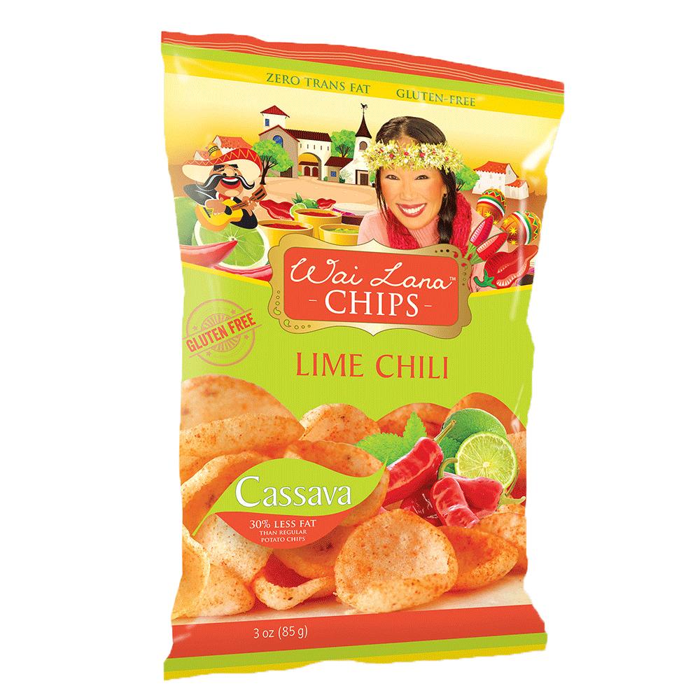 印尼進口 Wai Lana 蕙蘭農莊-檸檬辣椒木薯片85g