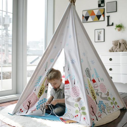 ★衛立兒生活館★Cuna Tent 成長美學小木屋(挪威森林小鎮)/遊戲帳篷【預購品 3/30 出貨】