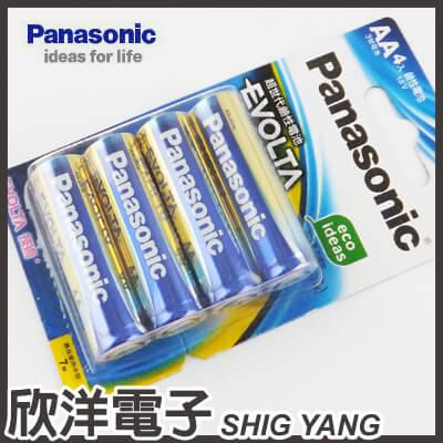 ※ 欣洋電子 ※ Panasonic 國際牌 EVOLTA AA 鹼性3號電池 1.5V (4入)