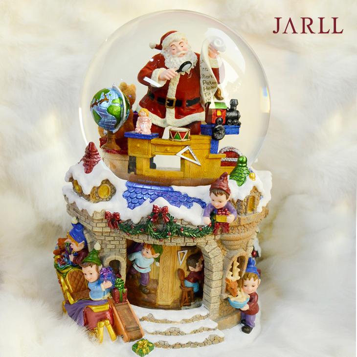 讚爾藝術 JARLL 工作老公公 聖誕禮物 交換禮物 聖誕水晶球音樂盒