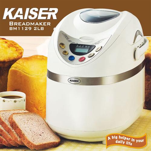 威寶家電【威寶Kaiser】多功能麵包製造機(BM1129)