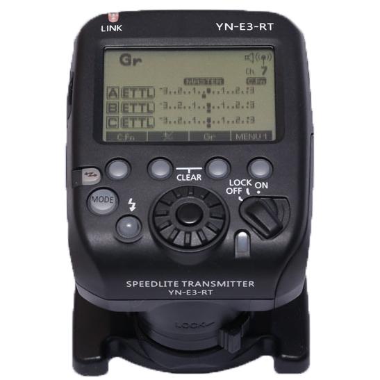 [享樂攝影]保固一年 永諾 YN-E3-RT 專用E-TTL控制器 發射器 YN E3 RT 參考ST-E3-RT STE3RT ETTL 600EXRT 600EX-RT