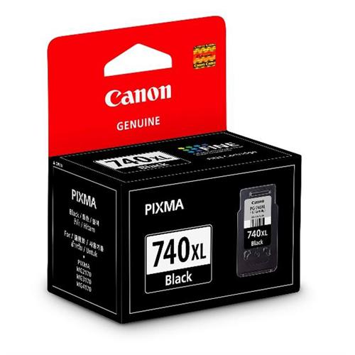 CANON PG-740XL 黑色高容量墨水匣 適用 MG3570/MG3670/MX477