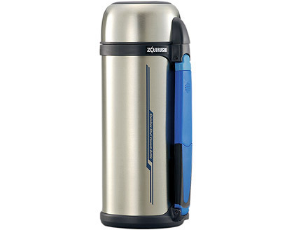 ✈皇宮電器✿ 象印 2.0L不銹鋼真空保溫/保冷瓶 SF-CC20 貼心防護栓,只要輕輕一按就喝的到