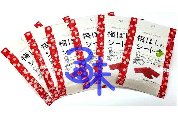 (日本) ai factory 板梅梅干片 1組 6包 (14公克*6包) 特價 360 元  平均1包 60元【4959436801087 】(日本梅薄片 板梅片 梅干片 梅乾片 紫蘇梅 青梅)
