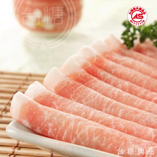 台糖 里肌火鍋肉片(200g/盒)
