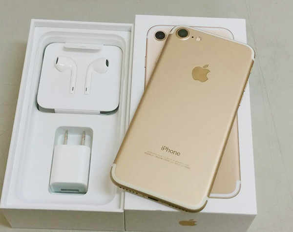 【Teng Yu 騰宇】開通福利品 9.9成新 APPLE IPHONE 7  4.7吋金128G盒裝完整~請先詢問是否有現貨