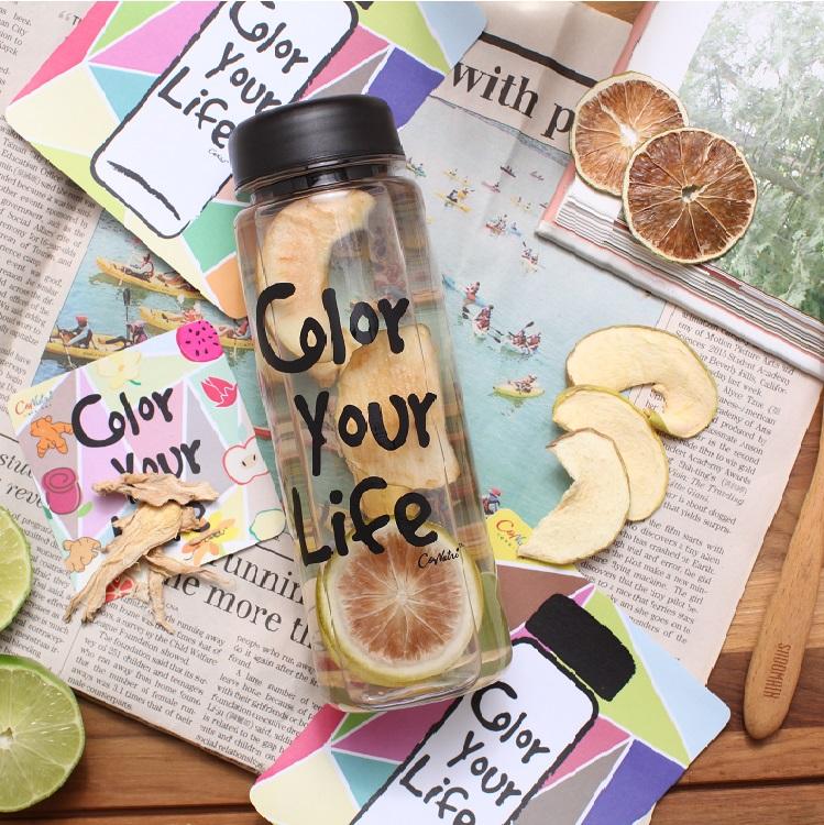 【台灣常溫】Color Your Life 花果水手提禮盒 (8包 + 1隨身瓶) #蘋果 #火龍果 #鳳梨乾 #洛神花 #檸檬 #薑黃 #無防腐劑 #無色素 #無香料 #無加糖 #獨家專利常溫乾燥 #營養更完整保留