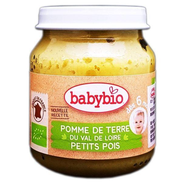『121婦嬰用品館』法國 Babybio 有機普羅旺斯鮮蔬泥(130g/4M+)