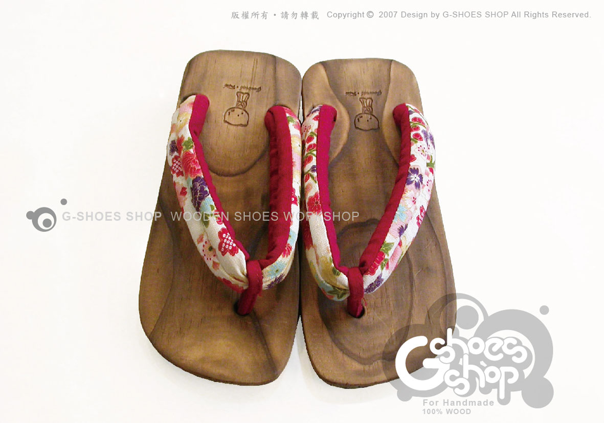 ◎g-shoes shop木鞋工坊 ◎**木屐** D05031-32寬鞋帶夾式木屐拖(吸濕排汗)可做親子鞋