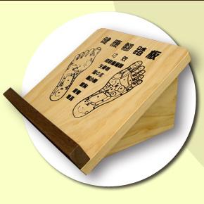 【木鞋工坊】健康塑身原木拉筋板