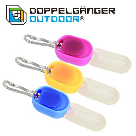 日本 DOPPELGANGER 螢火蟲燈 3色入(藍、黃、桃) L1-154 露營│戶外│營繩燈