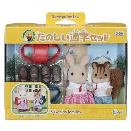 《森林家族-日版》小學人偶組