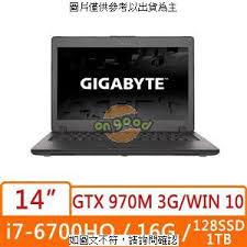 【Dr.K 】 技嘉 GIGABYTE P34WV5-2K7670H16GS1H1W10   GTX 970M D5 3G  玩家級獨顯  電競級輕薄首選