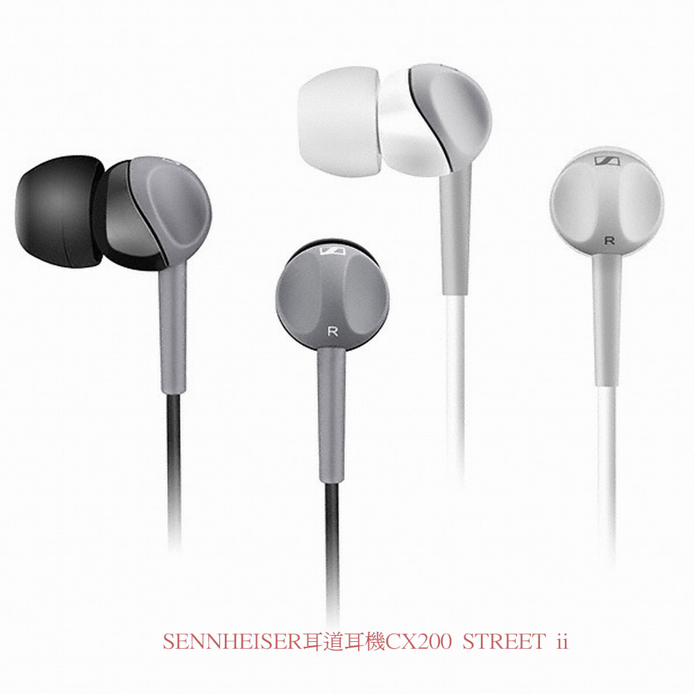 SENNHEISER耳道耳機CX200 STREET ii