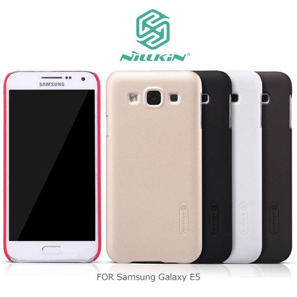 NILLKIN 三星 Samsung Galaxy E5 / E500 超級護盾硬質保護殼 抗指紋磨砂硬殼 保護套