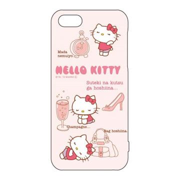 ~斯瑪鋒數位~ 日本GD原廠授權 蘋果Apple iPhone 5/5s /5SE Hello Kitty 外殼手機殼保護殼 - 悠閒時光 (公司貨