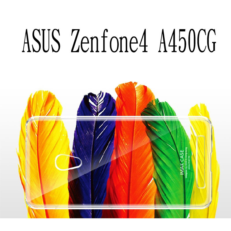 ~斯瑪鋒科技~IMAK Asus ZenFone 4 ( A450CG ) 4.5吋 羽翼水晶保護殼 透明保護殼 硬殼 保護套