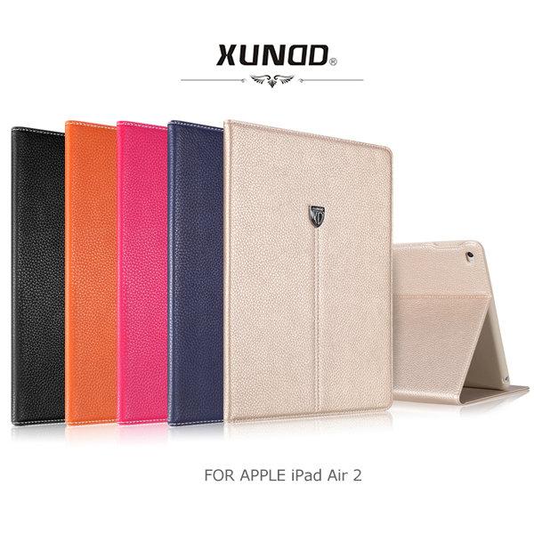 XUNDD 訊迪 APPLE iPad Air 2 貴族系列真皮可立皮套 側翻皮套 保護套 可插卡皮套~斯瑪鋒科技~
