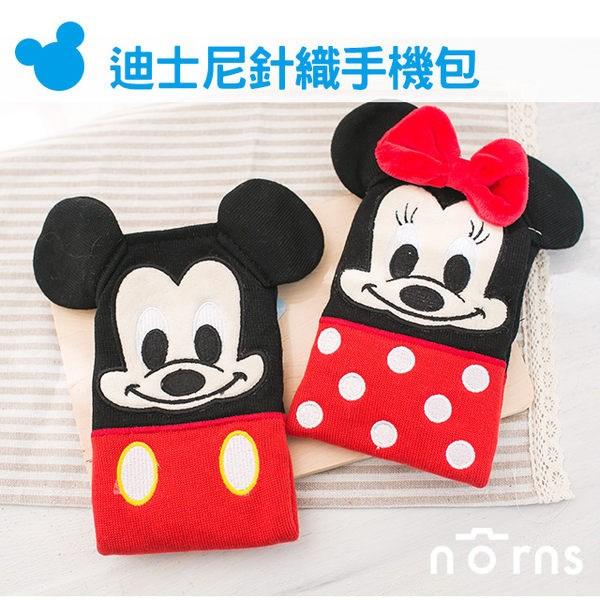 NORNS 【迪士尼針織手機包】 手機袋 手機套 手機包米奇 米妮 米老鼠 iPhone 6 Plus