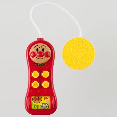日本代購預購 滿600免運 麵包超人 聲光電話玩具幼兒玩具手機玩具兒童玩具 707-557